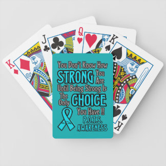 You Don't Know How Strong...P.O.T.S. Bicycle Playing Cards