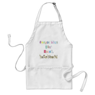You Don't Know Me Standard Apron