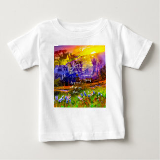 You don't know where the road lead us. baby T-Shirt