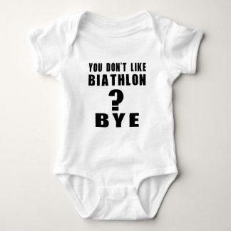 You Don't Like biathlon ? Bye Baby Bodysuit