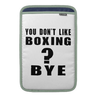 You Don't Like boxing ? Bye Sleeves For MacBook Air