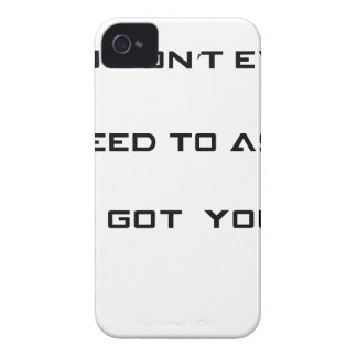 you don't ned to ask i got you Case-Mate iPhone 4 case