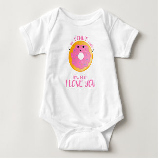 You DONUT know how much I love you - Baby Bodysuit