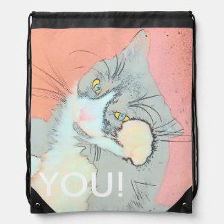 You! Drawstring Bag