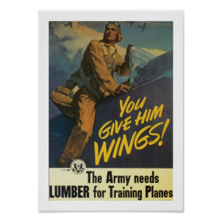 You Give Him Wings! Poster