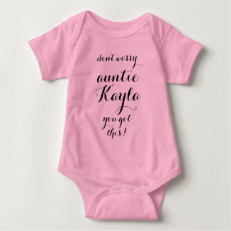 You Got This Aunt to be new aunt gift niece nephew Baby Bodysuit