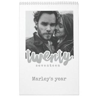 you got this, Medium, White Calendar