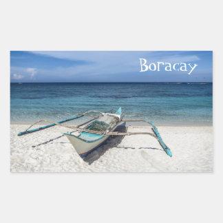 You Gotta Love Boracay Rectangular Sticker