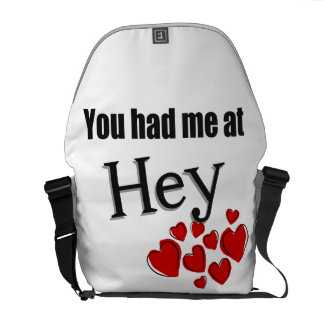 You had me at Hey Faroese Hello Messenger Bag