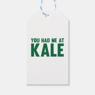You Had Me At Kale Gift Tags