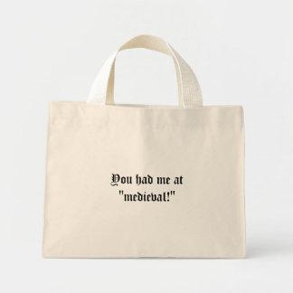 You had me at medieval bag
