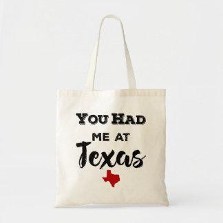 You Had Me at Texas Tote