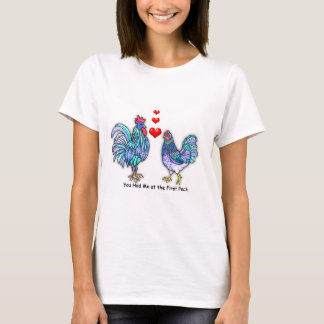 You Had Me at the First Peck- Love Birds T-Shirt