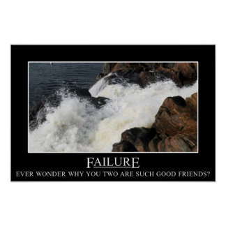 You have a great relationship with failure (L) Poster