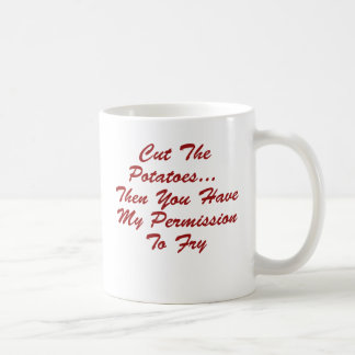 You Have My Permission To... Basic White Mug