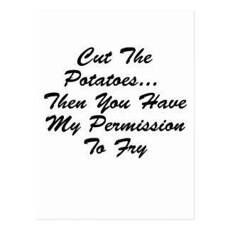 You Have My Permission To... Post Cards