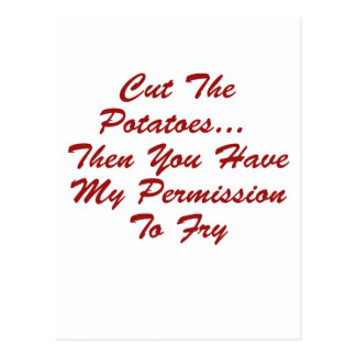 You Have My Permission To... Postcard