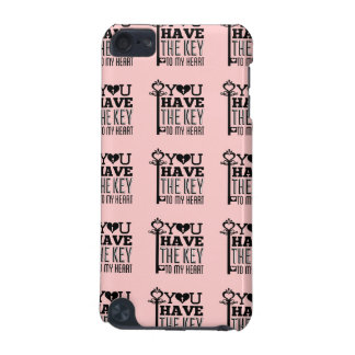 You Have the Key to My Heart Pink iPod Touch 5G Covers