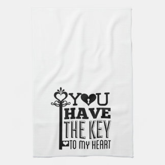 You Have the Key to My Heart Towels