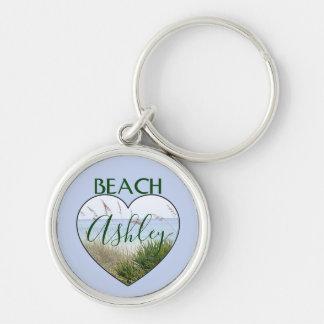 You Heart Destin Beach Key Ring