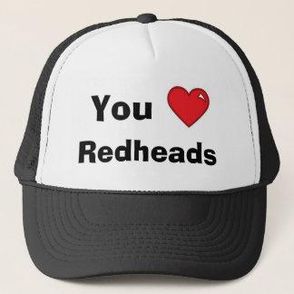 You Heart Redheads -- Mesh Hat