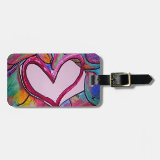 You Hold My Heart in Your Hands Luggage Tag