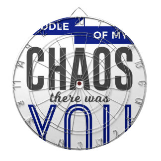You In The Chaos Dartboard