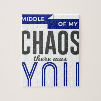 You In The Chaos Jigsaw Puzzle
