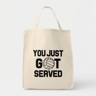 You Just Got Served funny volleyball bag