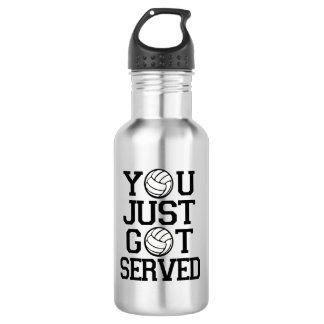 You Just Got Served funny Volleyball water bottle 532 Ml Water Bottle