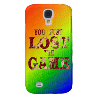 You just lost the game - Internet meme Galaxy S4 Cases