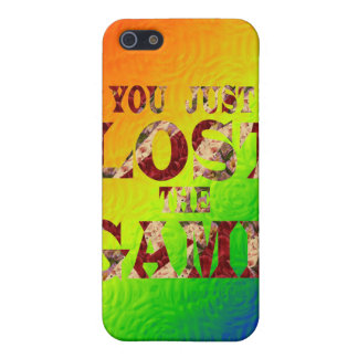 You just lost the game - Internet meme iPhone 5/5S Case