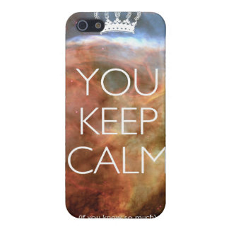 you keep calm iPhone 5 cover