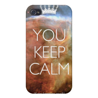 you keep calm iPhone 4 covers