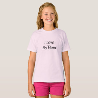 """You Know It! """"I Love Annoying My Mom"""" Girls Shirt"""