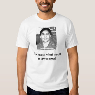 You know what would be awesome? t-shirt