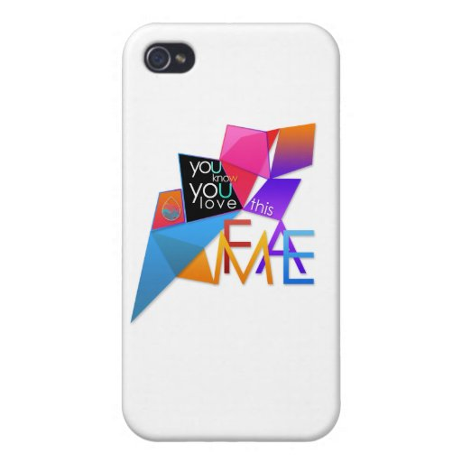 (You Know You Love This) FAME iPhone 4 Cover