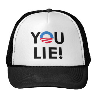 YOU LIE T-SHIRT & GIFTS TRUCKER HATS