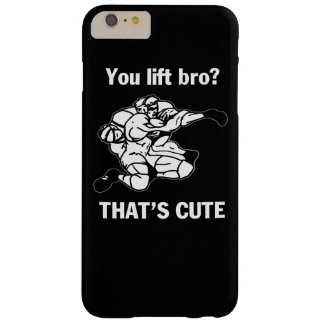 You lift bro? barely there iPhone 6 plus case