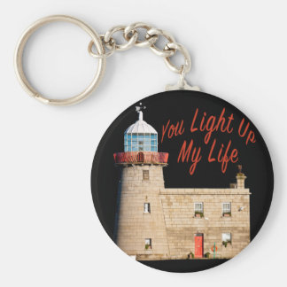 You Light Up My Life Key Ring