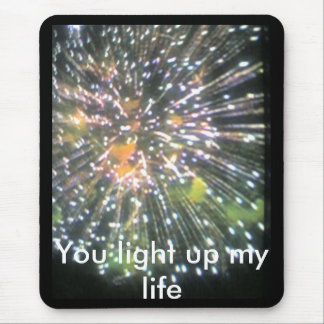 you light up my life mouse pad
