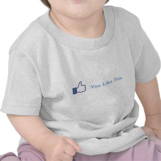 You Like This baby Tee Shirt