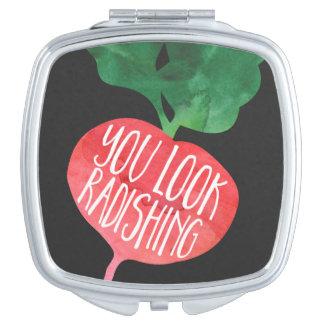 You Look Radishing Makeup Mirror
