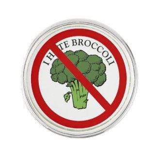 You love broccoli? lapel pin