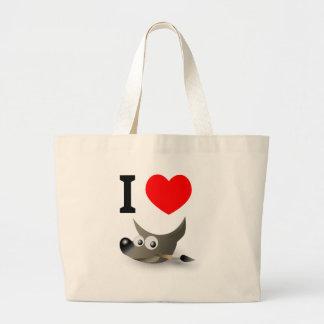 You love GIMP? Show it! Jumbo Tote Bag