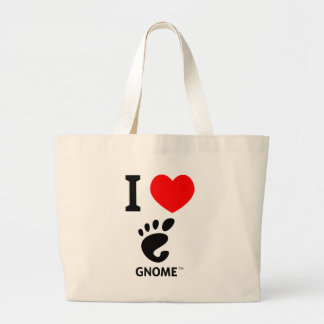 You love Gnome? Show it! Canvas Bags