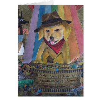 You Lucky Dog Card