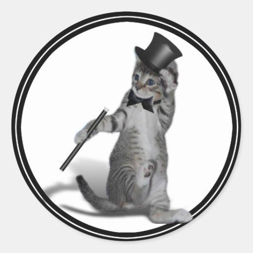 You make me feel like Dancing! Tap Dancing Cat Sticker