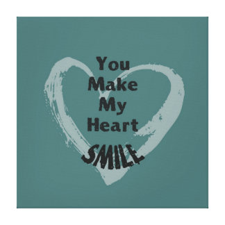 You Make Me Smile Canvas Prints