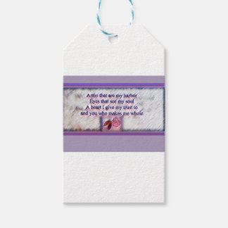 You Make Me Whole Poem Gift Tags